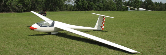 Single seater Grob Astir CS VH-WVJ