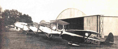 Macquarie Grove Flying School Maintenance at Camden 1939
