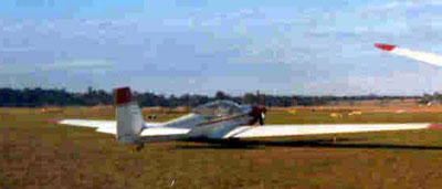 Southern Cross RF5B Motorglider in 1973