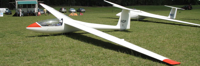 Single seater SZD 51-1 Junior VH-HDP
